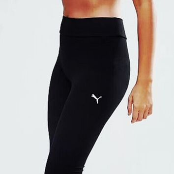 """PUMA"" Fashion Exercise Fitness Gym Yoga Running Leggings Sweatpants"