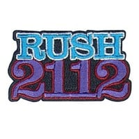 2112 Embroidered Patch