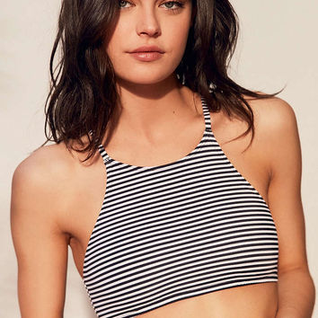 Out From Under High Neck Printed Bikini Top - Urban Outfitters