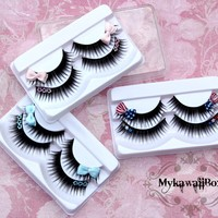 'BUY 2 Baby Doll Eyelashes Bow, GET 3RD FREE'