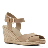 Nine West: Moveover Peep Toe Wedges