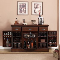AHB Gabriella Wine and Spirit Bar - Navajo - Home Bars at Hayneedle