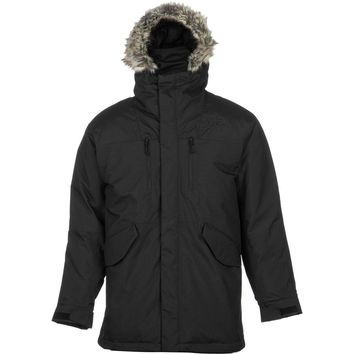 The North Face Men's Mount Logan TNF Black Parka