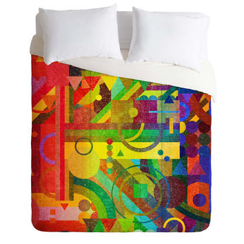 Nick Nelson Future Patterns Duvet Cover