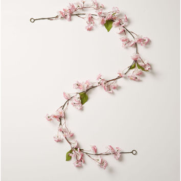 Fresh Picked Spring 66'' Cherry Blossom Garland-Pink | JOANN
