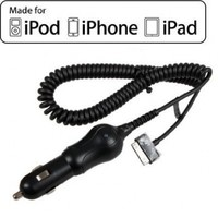 PureGear Apple iPhone 4S Vehicle Car Charger (Black)