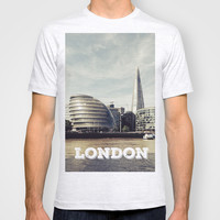 London city view T-shirt by Architect´s Eye | Society6