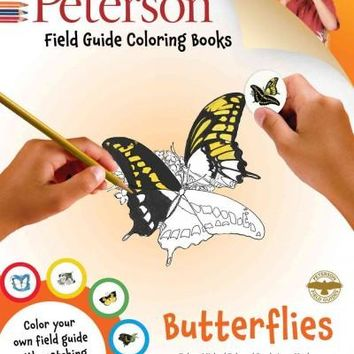 Butterflies (Peterson Field Guide Coloring Books)