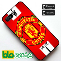 Manchester United Logo Iphone 6 Plus Plastic Case