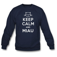 Keep Calm and Miau Sweatshirt