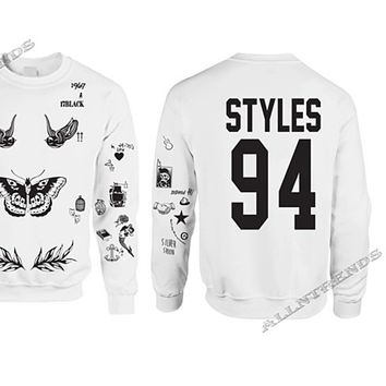 One Direction Shirt The Newest Harry Styles Tattoos 94 Styles