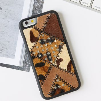 Free People Patchwork iPhone 6 Case