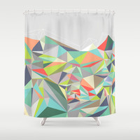 Graphic 199 Shower Curtain by Mareike Böhmer Graphics