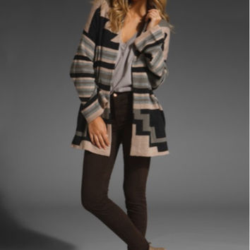 Searching For Joie Varia Navajo Cashmere Cardigan
