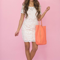 Dedicated To You Lace Dress