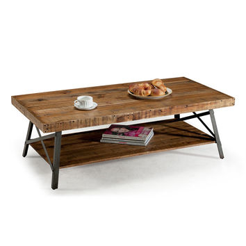 Emerald Chandler Reclaimed Wood Cocktail Table | Overstock.com Shopping - The Best Deals on Coffee, Sofa & End Tables