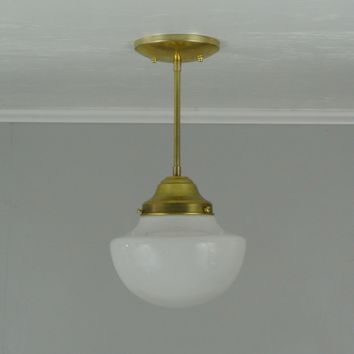 Mini Vintage Dome Pendant Light