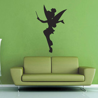 Tinkerbell Silhouette Wall Decal