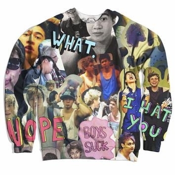 5 Seconds Of Summer Addict Sweater