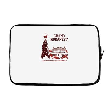 grand budapest hotel Laptop sleeve