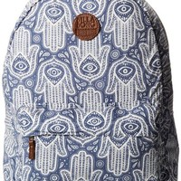 Billabong Juniors Hand Over Love Backpack, Blue Daze, One Size