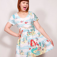 The Little Mermaid Party Dress MADE TO ORDER