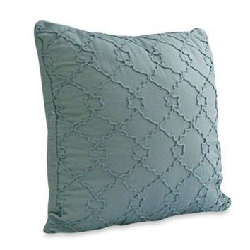 Nostalgia Home™ Hayden Square Ruched Decorative Pillow