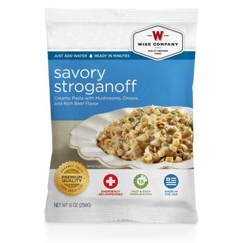 Wise Entre Dish - Savory Stroganoff, 4 Servings