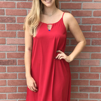 Georgia Gameday Dress- Red
