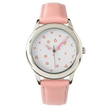 Happy Particles Wrist Watch