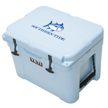 Skipjack Tundra Cooler 35qt in Ice Blue by YETI