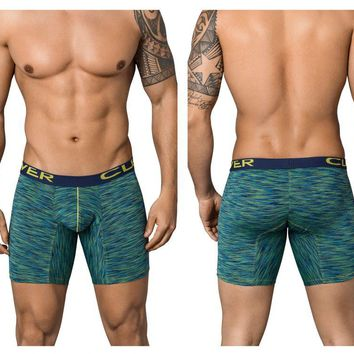 Clever 9199 Opera Long Boxer Briefs Color Green