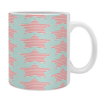 Allyson Johnson Stripes And Stars Coffee Mug