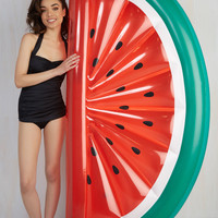 On Melon-Choly Hill Pool Float | Mod Retro Vintage Decor Accessories | ModCloth.com
