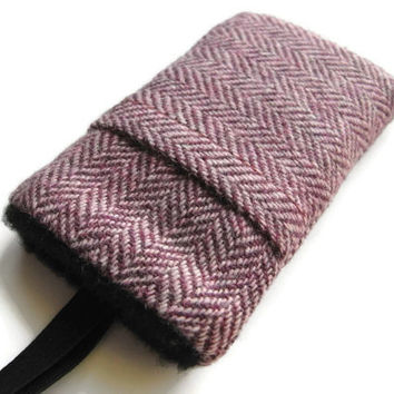 iphone 6 plus Cover  Galaxy Note 4  Samsung S5  Harris Tweed Cover