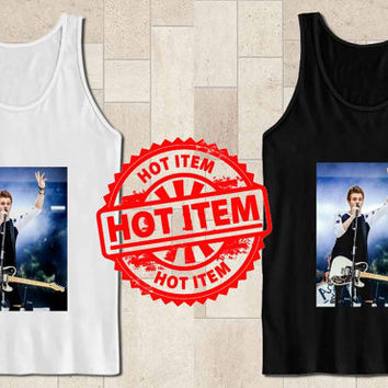 luke hemmings 5 second of summer picture tanktop for tank top mens and tank top girls