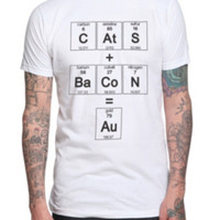 Cats Bacon Elements T-Shirt