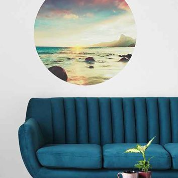 Walls Need Love Sunset Beach Wall Decal