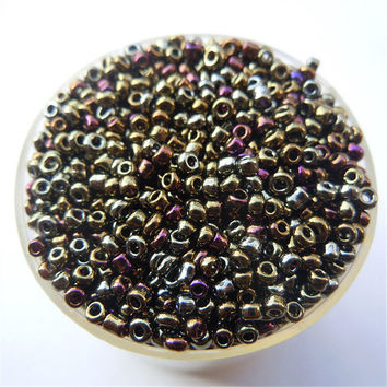 Free Shipping Bright Colors 1000Pcs 2mm Czech Glass Seed Spacer Beads Jewelry Making DIY Pick 46 Colors