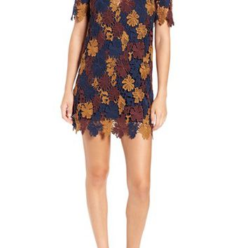 ASTR Guipure Lace Shift Dress | Nordstrom