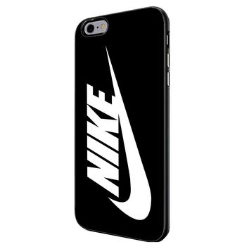 White Nike Just Do It Swoosh iPhone 6 Plus Case