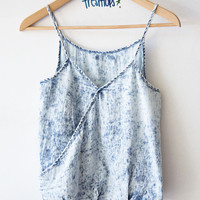 VANESSA DENIM TANK TOP