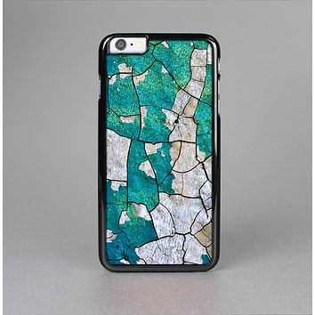 The Cracked Multicolored Paint Skin-Sert for the Apple iPhone 6 Plus Skin-Sert Case
