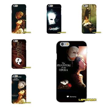 For Samsung Galaxy S3 S4 S5 MINI S6 S7 edge S8 S9 Plus Note 2 3 4 5 8 Phone Case Protector Phantom of the Opera Love Mask French