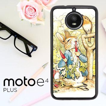 Beatrix Potter Peter Rabbit V1584 Motorola Moto E4 Plus Case