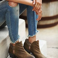 Free People Womens Southern Cross Ankle Boot