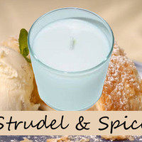 Strudel and Spice Scented Candle in Tumbler 13 oz