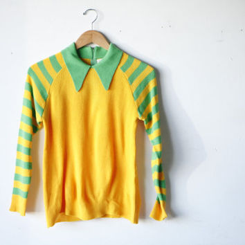 60s RONALD MCDONALD ACID neo clown yellow by easyridervintage