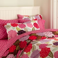 Chloe Floral Organic Duvet Cover + Pillowcases