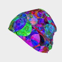 Psychedelic Trippy Abstract Beanie